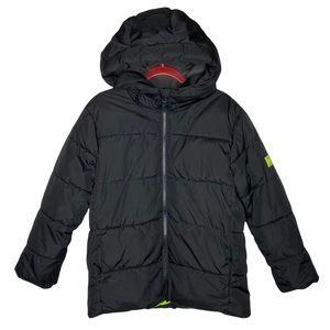 GAP Kids Warmest Puffer Jacket in Black size Small